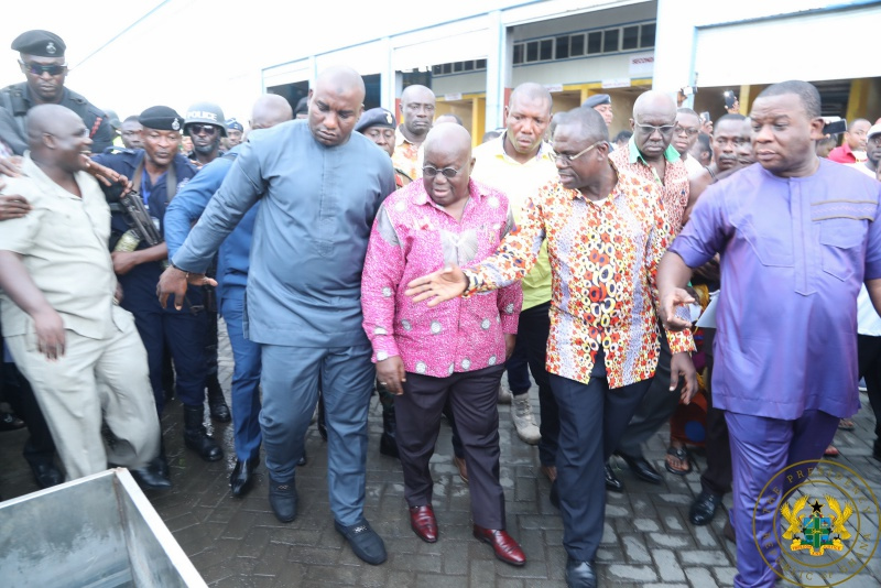 "President Akufo-Addo ""Excited"" By Operations Of Accra Compost & Recycling Plant"